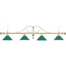 Lamp Classic, green, 4 Bells